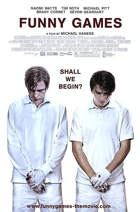 Funny Games is designed to actually torture the audience, the two preppy, ...